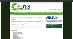 Preview of dtsairpressuretesting-dorset.co.uk