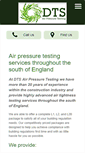 Mobile Preview of dtsairpressuretesting-dorset.co.uk